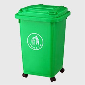 ZX-SL117万向轮塑料垃圾桶