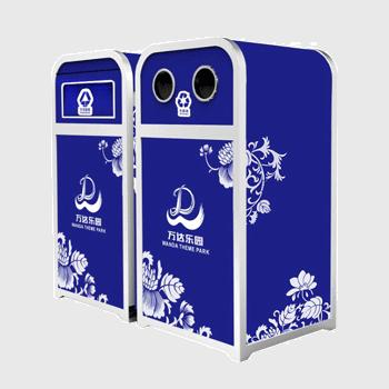 ZX-YL109游乐园垃圾桶