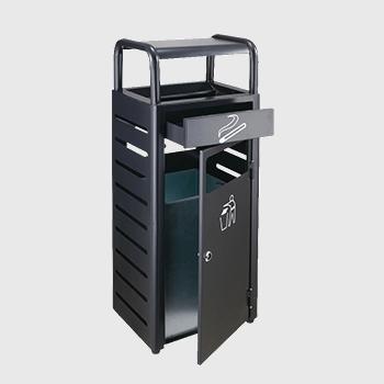 ZX-KQ162烤漆垃圾桶