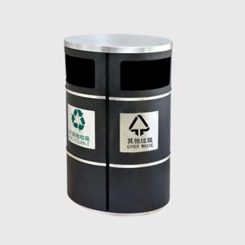 ZX-SN114椭圆商务垃圾桶