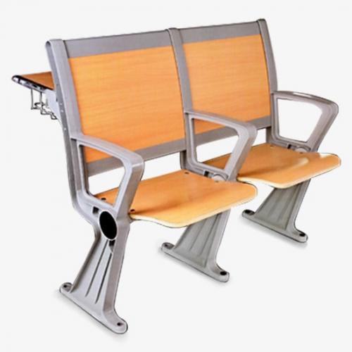 多媒体教室可折叠排椅