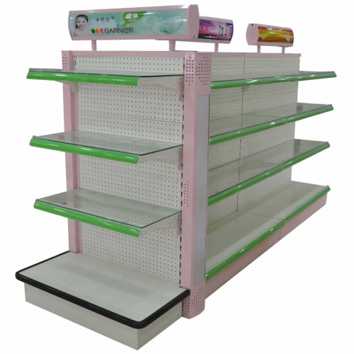 钢制超市洗化仓储货架