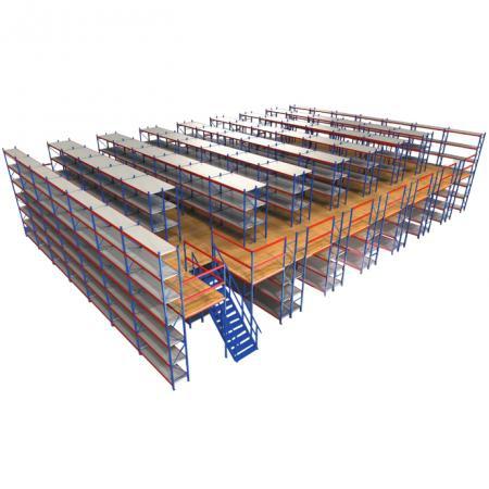 阁楼式货架&钢平台