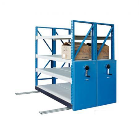 移动式钢制仓储货架
