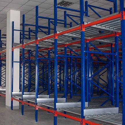 重型钢制滚筒式仓储货架