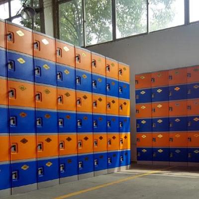 全ABS塑料更衣柜(六层柜)
